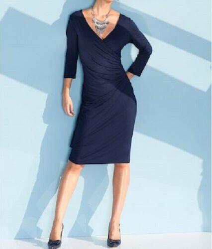 De Gr De Fourreau Viscose Robe Bleu Soirée Soirée Robe Robe Soirée 46 44 42 De 1xwpY
