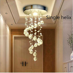 Modern-Chrome-Crystal-LED-Ceiling-Lights-Lamp-Fitting-Pendant-Chandelier-5336HC