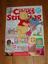 World of Cross Stitching Magazine Issue 135 With Gift, Pooh and Piglet