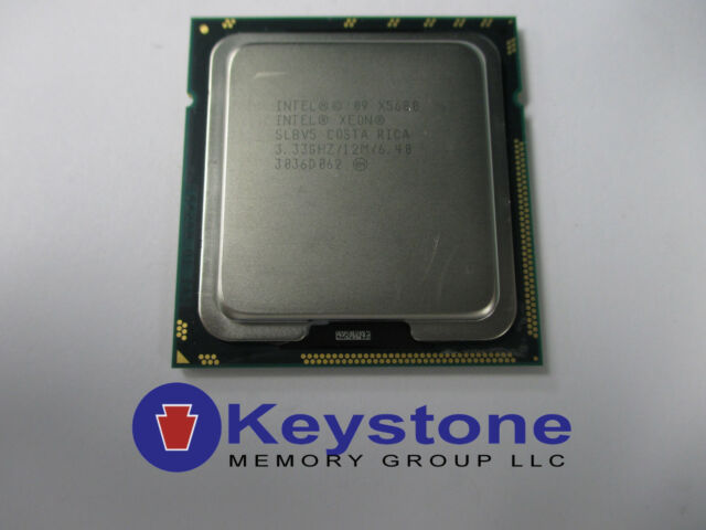 Intel Xeon X5680 SLBV5 3.33GHz 6 Core LGA 1366 CPU Processor *km