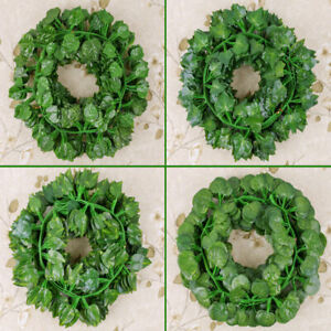 Am-12pcs-84-Feet-Artificial-Vines-tropical-Fake-Vines-outdoor-for-Wed-Strikin