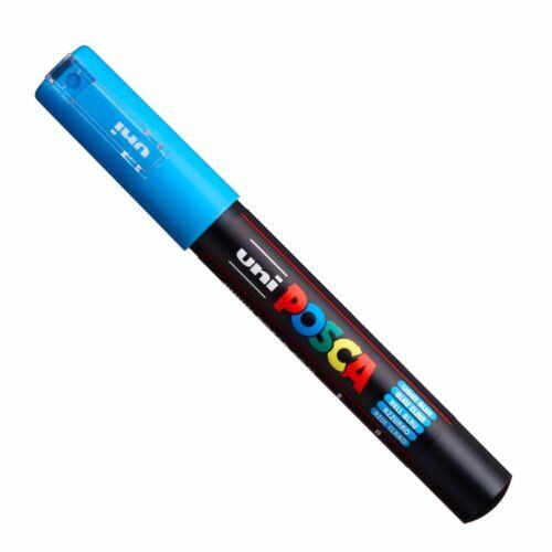 Uni Posca PC-1M Pintura Marcador Plumas del arte-Paquete de 8 Colores-Extra Fino Punta de núcleo