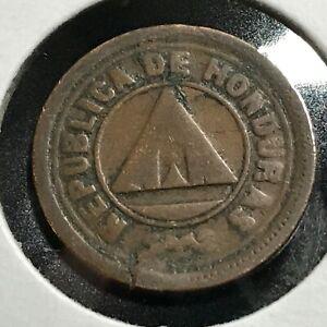 1919-HONDURAS-TWO-CENTAVOS