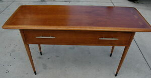 Attrayant ... Vintage Lane Acclaim Console Table Mid Century Dovetail