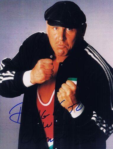 WWE WWF ECW Wrestling Big Vito Autographed Signed 8x10 Photo  w//COA