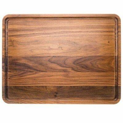Walnut Wood Cutting Board by Virginia Boys Kitchens  Made in USA