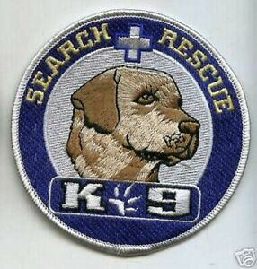 MILITARY CANINE MP SWAT POLICE K-9 LABRADOR  SEARCH & RESCUE K-9 Iron-on PATCH
