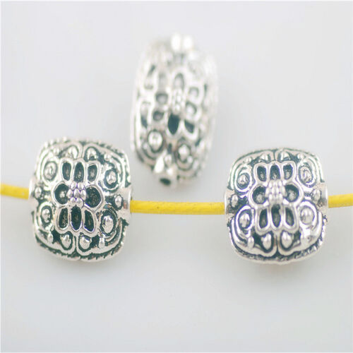 Wholesale 20pcs Washer Beads Loose Bead Findings Crafts Spacer Charms 10x13mm