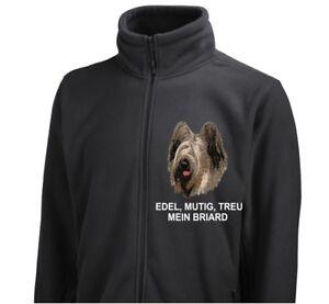 Polaire Dog Veste Veste Briard Siviwonder Broderie De ZwSwqzFx
