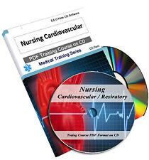 Nursing Cardiovascular Respiratory Course Book Training Manual Heart Cardiac 80