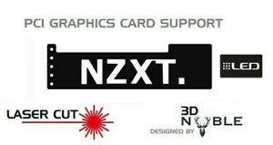 Negro-LED-retroiluminada-NZXT-GPU-Anti-Flacidez-Soporte-Soporte-Abrazadera-GTX-NVIDIA-ROG