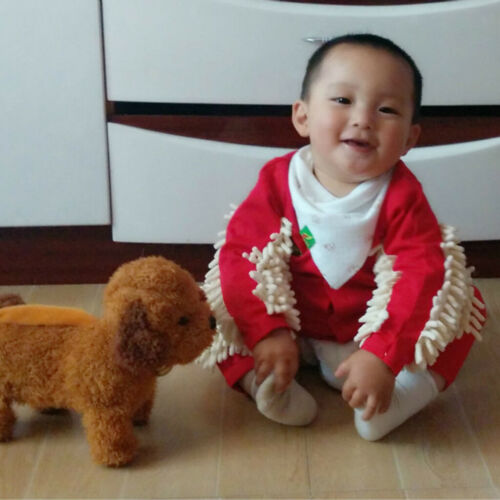 Baby Mop Romper For Newborn Boys Girls Clothes Long Sleeve Crawling Jumpsuit