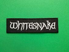 HEAVY METAL PUNK ROCK MUSIC FESTIVAL SEW ON / IRON ON PATCH:- WHITESNAKE (-)