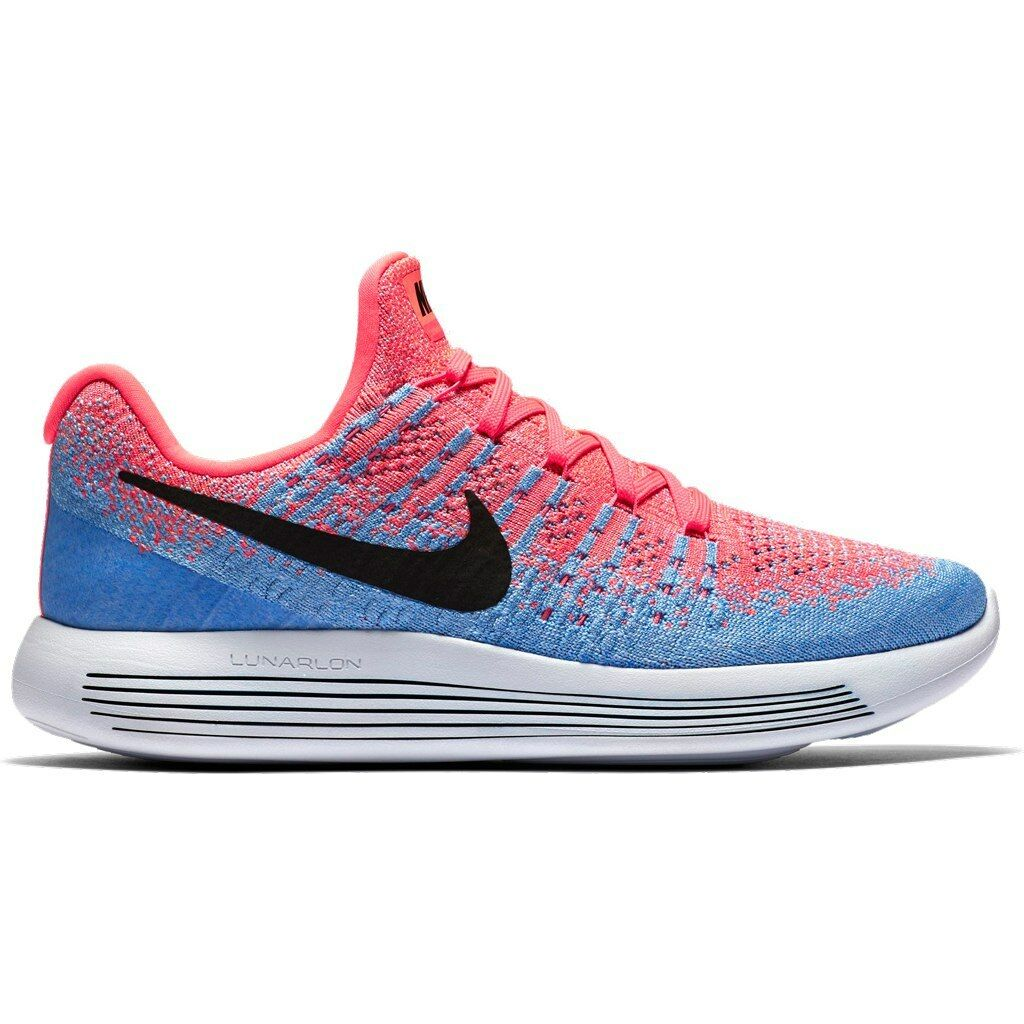 Women's Brand New Nike Lunarepic Low Flyknit 2 Athletic II Sneakers [863780 600]