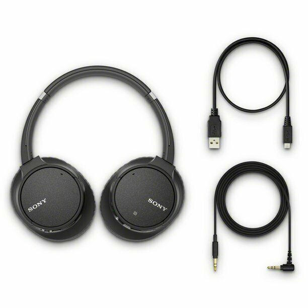 Sony WH-CH700N Bluetooth Noise Canceling Wireless Headphones Black - NEW