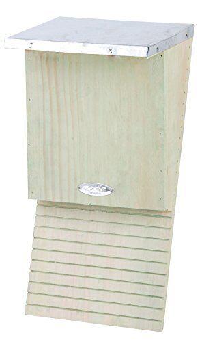 Natural Esschert Design NKVM 39 x 18 x 17cm Wood Bat Box