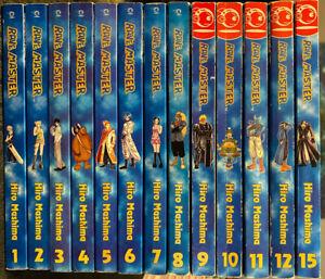 Rave-Master-1-12-15-Manga-English-2-3-4-5-6-7-8-9-10-11-Tokyopop-OOP