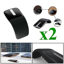 a7c2de62684 2*Touch Wireless Mouse For Surface Arc Touch 3D Computer Mice 2.4Ghz  Foldable