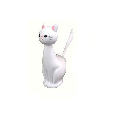 Neko Cat Toilet Brush Bathroom Cleaning Tool KURO Black CUTE KAWAII ANIMAL GIFT