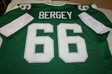 PHILADELPHIA EAGLES #66 BILL BERGEY CUSTOM JERSEY SIZE LARGE SB XV