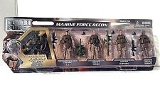 1:18 BBI Elite Force USMC Marine Force Recon Assault Figure Soldier Set of 5 NEW