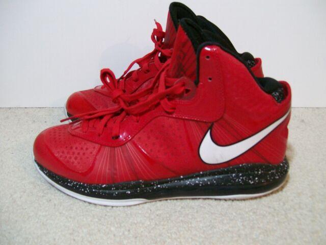 outlet store 7ba19 634aa Mens SZ 13 Nike Lebron 8 V/2 VIII Christmas 429676-600 IV XV IX V X South  Beach