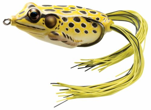 Koppers Live Target Frog Yellow//Black 5//8oz