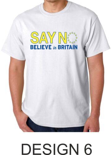 Leave Brexit EU Referendum European Union T Shirt EU Exit EU No Campaign