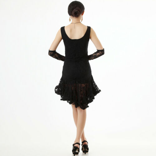 NEW Latin Ballroom Dance Dress Modern Salsa Cha cha tango Dance Dress#NN012