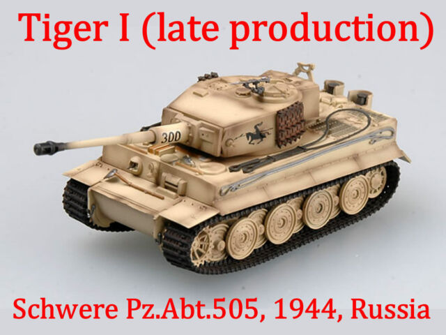 Easy Model 36220-1//72 Tiger I 505-Russia 1944 Abt Pz Late Production - s