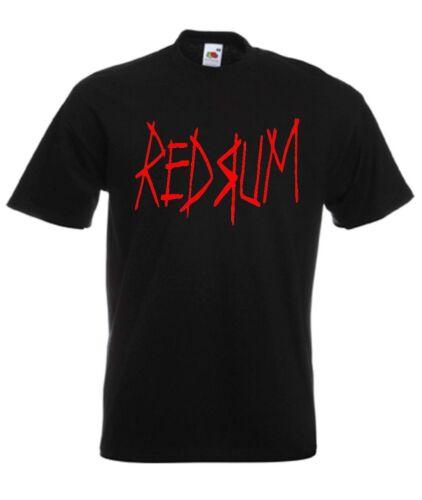 Redrum The Shining Classic Horror Movie T Shirt