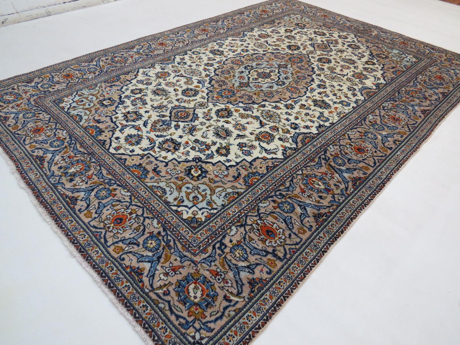 Originale Tappeto Persiano Annodato a Mano 295x200 Kashan Orientale Nr.6085