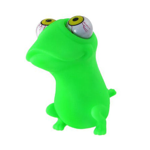 Green  Shaped Stress Relief Eye Popping Large Decompression Squeeze Toy I7R9