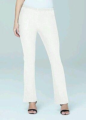 Ladies Slim-leg Jeggings-Blue-PLUS Size 34 W50 L29 Regular *QUALITY* NOT 16