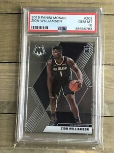 ZION-WILLIAMSON-2019-20-PANINI-MOSAIC-ROOKIE-209-PSA-10-GEM-MINT-A2