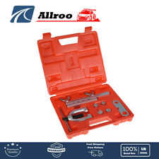 Iso Bubble Flare Brake Line Flaring Tool Kit With 475 6 8 10mm With Case