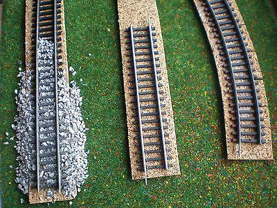 Kreuzweiche Ideale Gleisunterlage Kork Spur H0