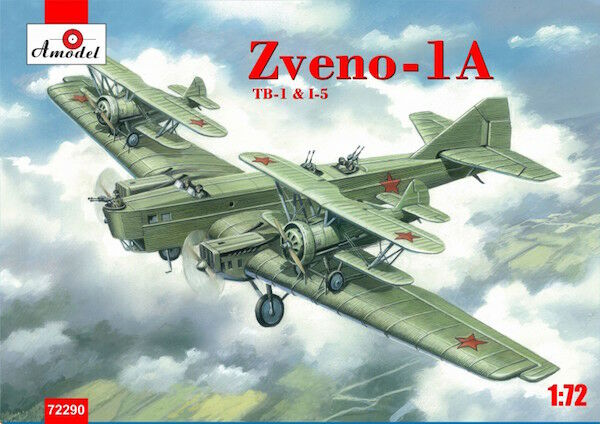 Amodel 1 72 Zveno-1a. Tb-1 & I-5  72290