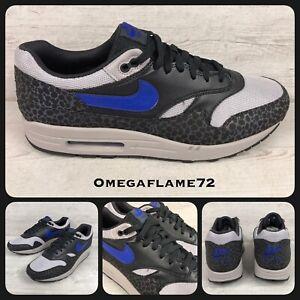 Details about Nike Air Max 1 SE Reflective, BQ6521 001, Sz UK 13, EU 48.5, US 14, Grey, Black