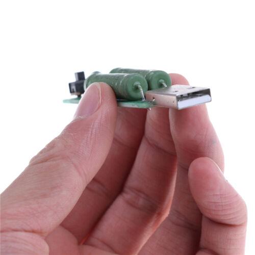 USB Mini-Entladeschnittstelle Lastwiderstand mit Schalter 2A 1A ZP
