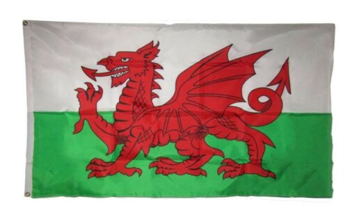 3x5 Wales Welsh Dragon Country 200D Nylon Flag 3/'x5/' Brass Grommets