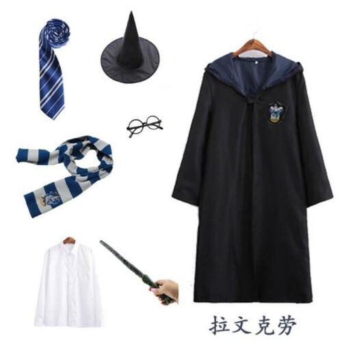 Harry Potter School Uniform Magic Robe Unsex Custome Set Gryffindor Halloween