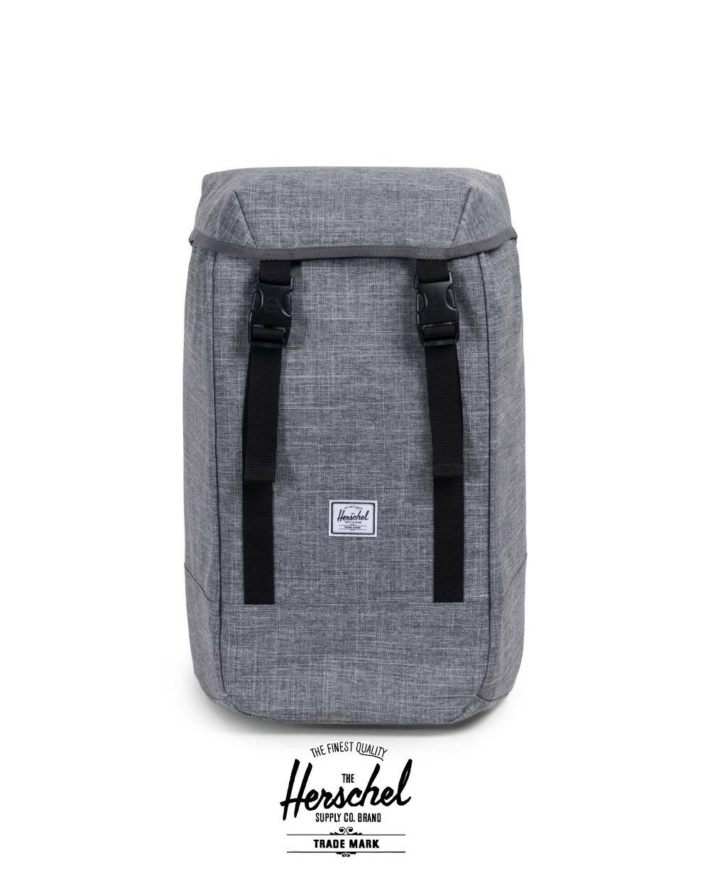 17d077a423fb Herschel Supply Co. Iona 600d Poly Backpack Raven Crosshatch for sale  online