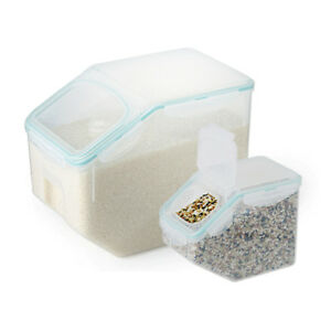 Lock Lock BPA FREE Rice Cereal Grain Storage Container 10kg