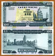 Macao / Macau 100 Patacas, 1999, P-73a, BNU, UNC