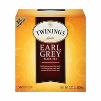Twinings Earl Grey Tea Tea Bags 50 Count Boxes (pack Of 6) Free Shipping