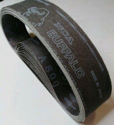 "6/""x 150g Silicon Carbide Lapidary Polish Sanding Belts  expandable Rubber Drum"