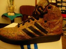 Adidas Jeremy Scott Jeremy Scott Instinct Snakeskin Hi Mens 9.5, Rainbow