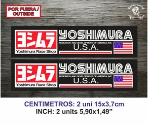 Sticker-Vinilo-Decal-Vinyl-Aufkleber-Adesivi-Autocollant-Yoshimura-Race-Shop-USA
