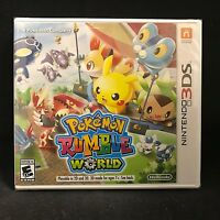 Pokémon Rumble World (Nintendo 3DS, 2016) Video Games